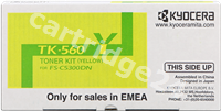 Original Kyocera toner yellow TK-560y 1T02HNAEU0