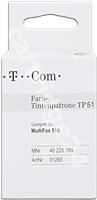 Original Telekom ink cartridge colour 40225899 TP 51