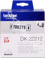 Original Brother labels DK-22212