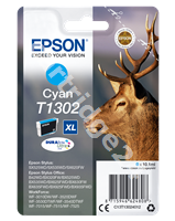 Original Epson ink cartridge cyan C13T13024010 T1302