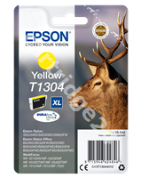 Original Epson ink cartridge yellow C13T13044010 T1304