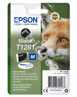 Original Epson ink cartridge black C13T12814011 T1281