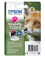 Original Epson ink cartridge magenta C13T12834011 T1283