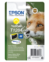 Original Epson ink cartridge yellow C13T12844011 T1284