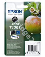 Original Epson ink cartridge black C13T12914011 T1291
