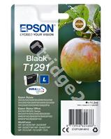 Original Epson ink cartridge black C13T12914011 T1291