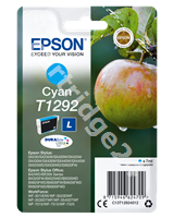 Original Epson ink cartridge cyan C13T12924011 T1292