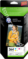 Original HP Value Pack color CH082EE 364