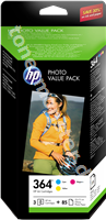 Original HP Value Pack color CH082EE 364 6139