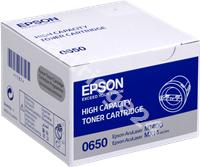 Original Epson toner black C13S050650 0650
