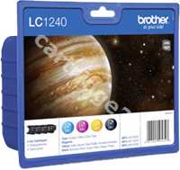 Original Brother value pack bk/c/m/y LC1240VALBPDR LC1240