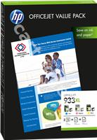 Original HP value pack colour CR711AE 933XL