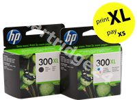 Original HP value pack colour 300 XL MCVP 300 XL