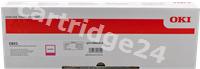 Original OKI toner magenta 44844614