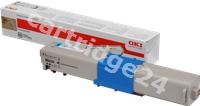 Original OKI toner cyan 44973535