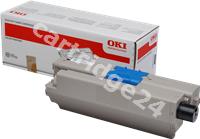 Original OKI toner black 44973536