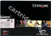Original Lexmark toner black 12A6835