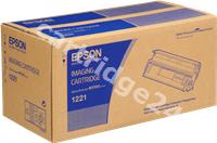 Original Epson toner black C13S051221 1221