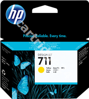 Original HP ink cartridge yellow CZ132A 711