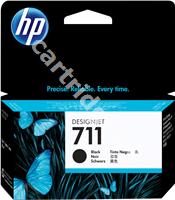 Original HP ink cartridge black CZ129A 711