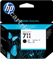 Original HP ink cartridge black CZ133A 711