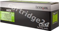 Original Lexmark toner black 50F2X00 502X