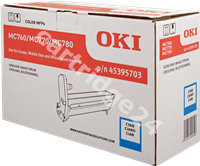 Original OKI imaging drum cyan 45395703