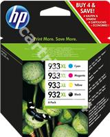 Original HP value pack bk/c/m/y C2P42AE 932 XL / 933 XL