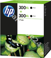 Original HP multipack black D8J43AE 300 XL