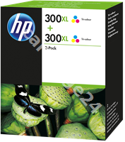 Original HP multipack colour D8J44AE 300 XL