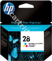 Original HP ink cartridge colour C8728AE 28